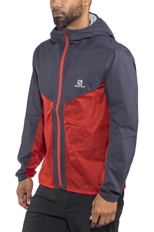 43f7652c4a4 Salomon Outspeed Jas Heren rood/blauw l Online outdoor shop Campz.nl
